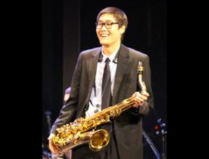 Saxophonist James Ohn