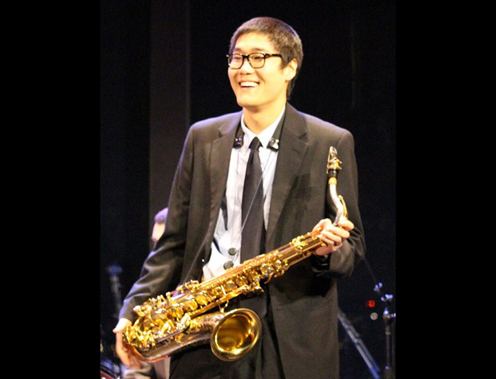 Saxophonist James Ohn